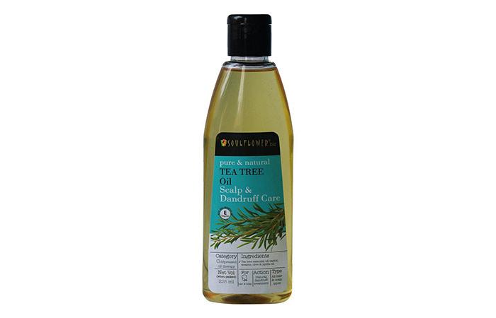 Solflower Tea Tree Scalp and Anti Dandruff Oil