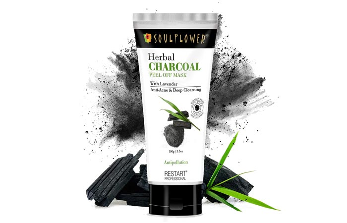 Soulflower Herbal Charcoal Peel Of Mask