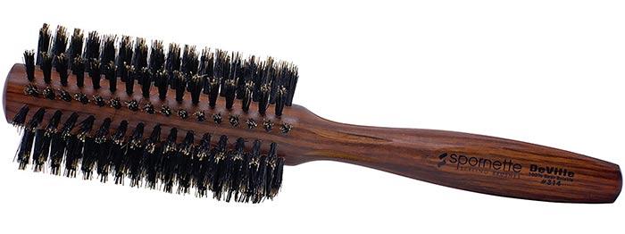 Spornette Deville Round Boar Bristle Hair Brush