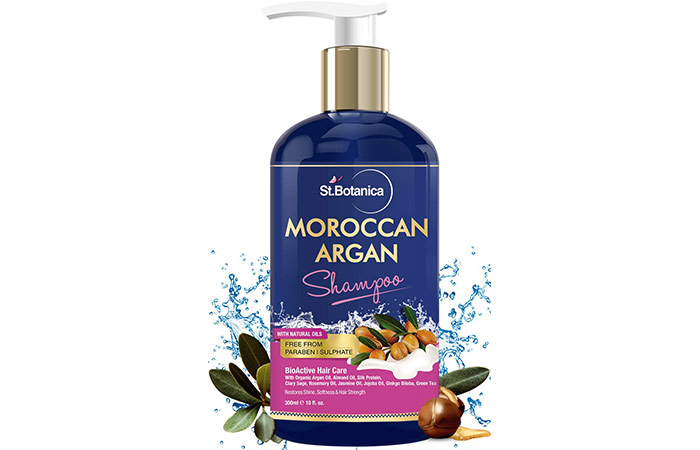 St. Botanica Moroccan Argon Hair Shampoo