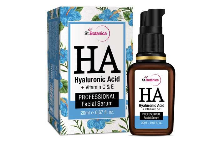 St Botanica Hyaluronic Acid Facial Serum