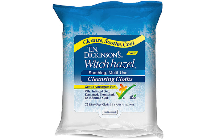 T.N. Dickinson's Witch Hazel Cleansing Cloth