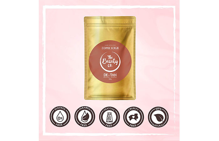 The Beauty Co D-Tan Coffee Face & Body Scrub