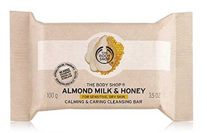 The Body Shop Almond Milk And Honey Soap Bar