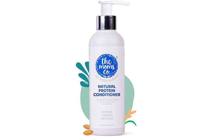 The Moms. Natural Protein Conditioner