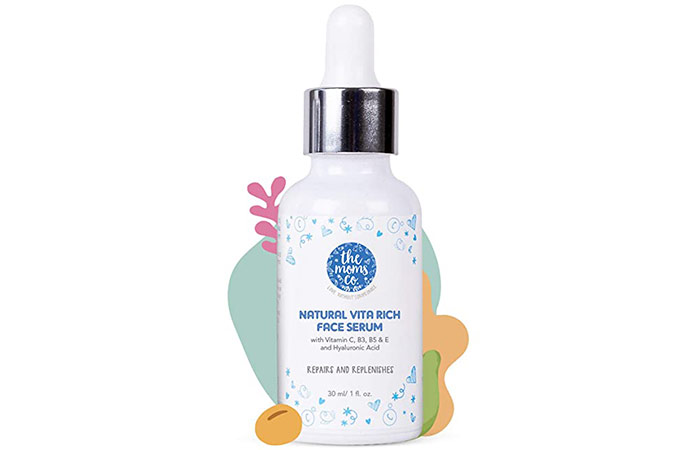 The Moms Natural Vitamin C Hyaluronic Acid Face Serum