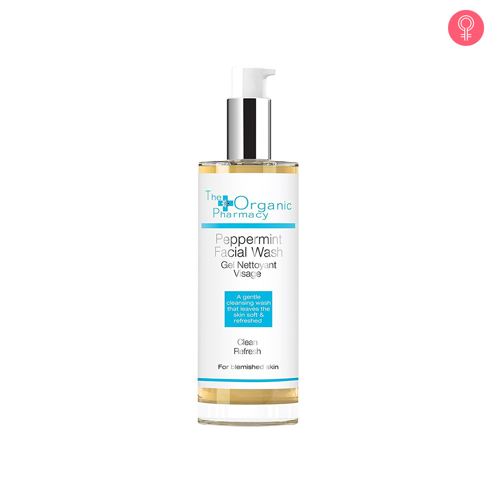 The Organic Pharmacy Peppermint Facial Wash