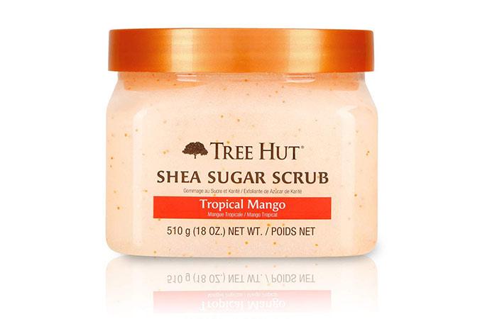 Tree Hut Shia Sugar Body Scrub Tropical Mango