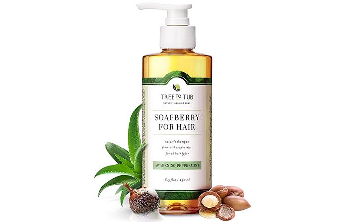 Tree To Tub Soapberry Peppermint Shampoo