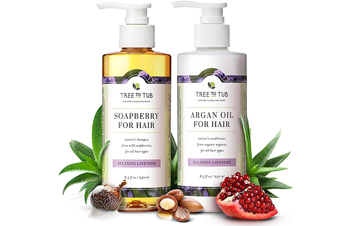 Tree to Tub Gentle Argan Oil Shampoo And Conditioner