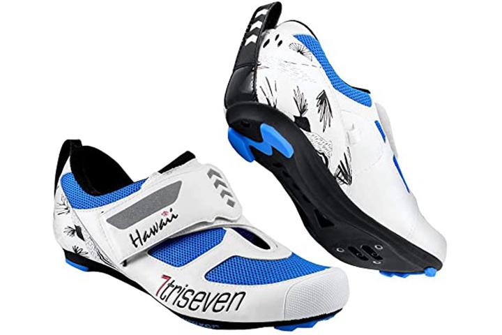 TriSeven Premium Nylon Triathlon Cycling Shoes