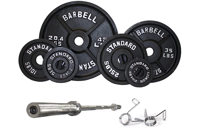 Troy Olympic Weight Set