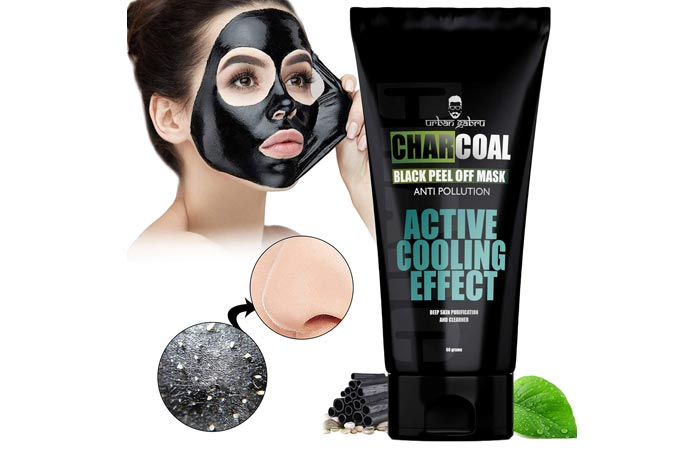 Urban Gabru Charcoal Peel Of Mask