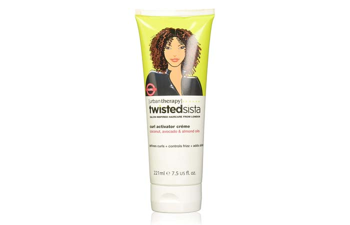 Urban Therapy Twisted Sista Curl Activator Creme