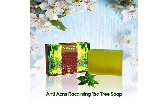Vaadi Herbals Becalming Tea Tree Soap