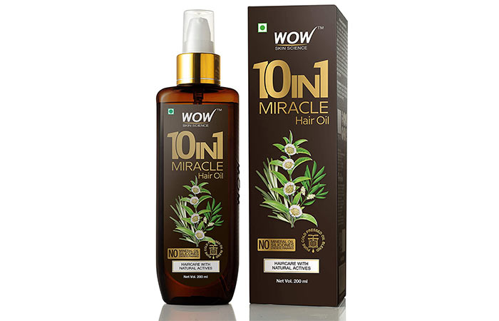 Vao 10 in 1 miracle hair oil
