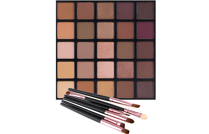 Vodisa 25 Smokey Eyeshadow Glitter Makeup Kit