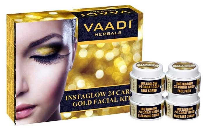 Wadi Herbals Gold Facial Kit