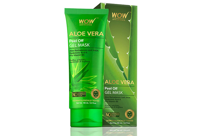 Wao Skin Science Aloe Vera Peel of Gel Mask