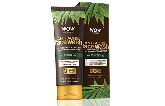 Wao Skin Science Anti-Acne Face Wash