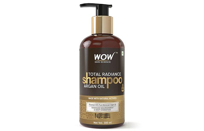 Wao Total Radiance No Parabens, Sulfate & Silicon Shampoo