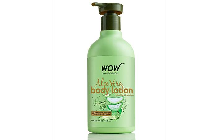 Wao aloe vera body lotion