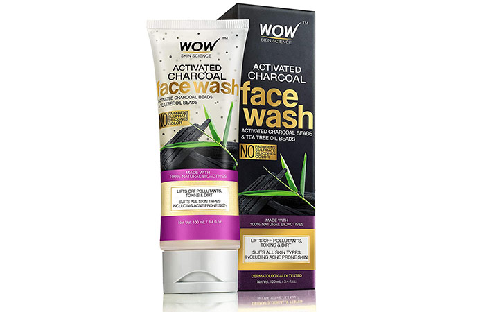 Wo Activated Charcoal Infused With Activated Charcoal Beads Freshwash