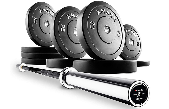 XMark Deadlift Voodoo Commercial Olympic Bar
