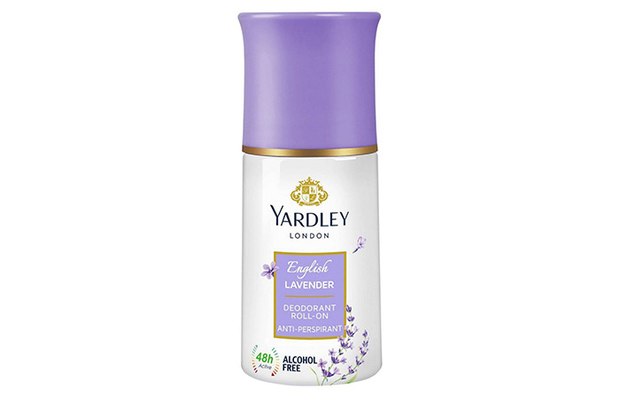 Yardley London English Lavender Deodorant Antiperspirant Roll On