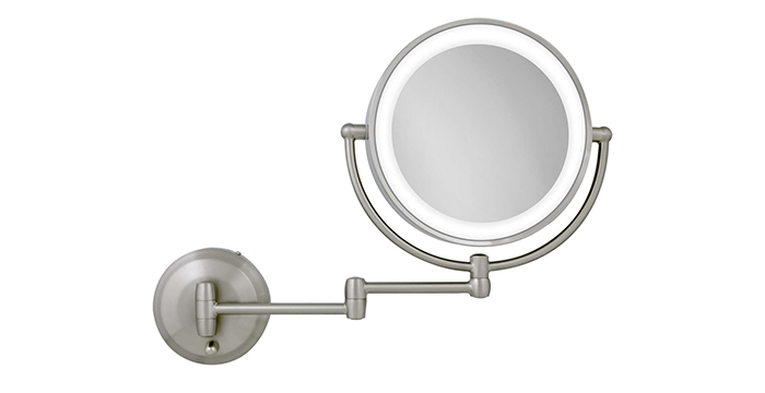 Zadro Wall Makeup Mirror With Lights