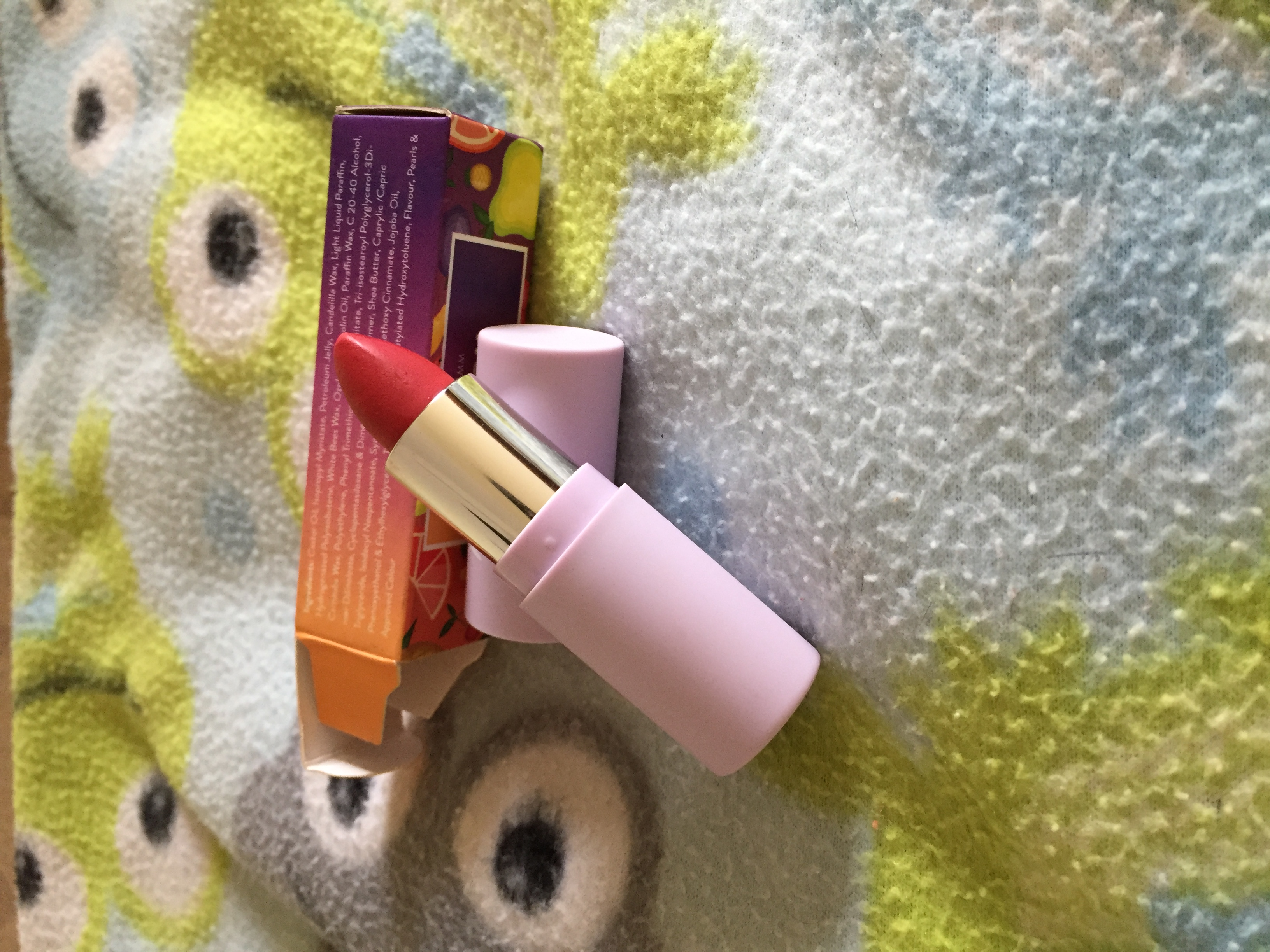 MyGlamm K.PLAY FLAVOURED LIPSTICK – CRANBERRY TWIST-Natural flavoured lipstick!!!-By santhiya_rajendrababu
