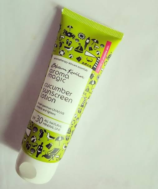 Aroma Magic Cucumber Sunscreen Lotion-Great Sunscreen-By nomercyonsexy-1