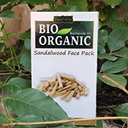 Indus Valley Bio Organic Sandalwood Face Pack Powder -No chemical and guaranteed results-By harshita_chourasia