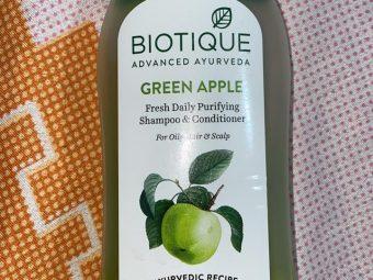 Biotique Bio Green Apple Fresh Daily Purifying Shampoo & Conditioner -Hydrates scalp-By shachi_sharma