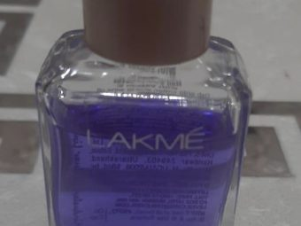 Lakme Nail Color Remover -Trusted remover-By shachi_sharma