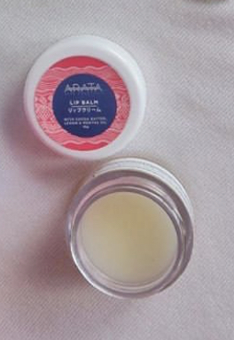 Arata Cocoa Butter Lemon Lip Balm-Smells divine-By shriekz