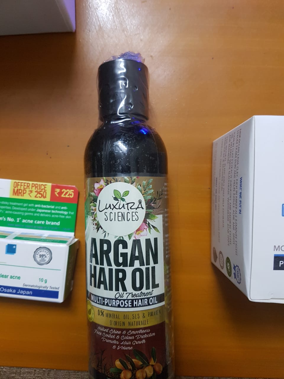 Luxura Sciences Argan Hair Oil 200 ml-Multipurpose oil and good for dry scalp-By shifa15