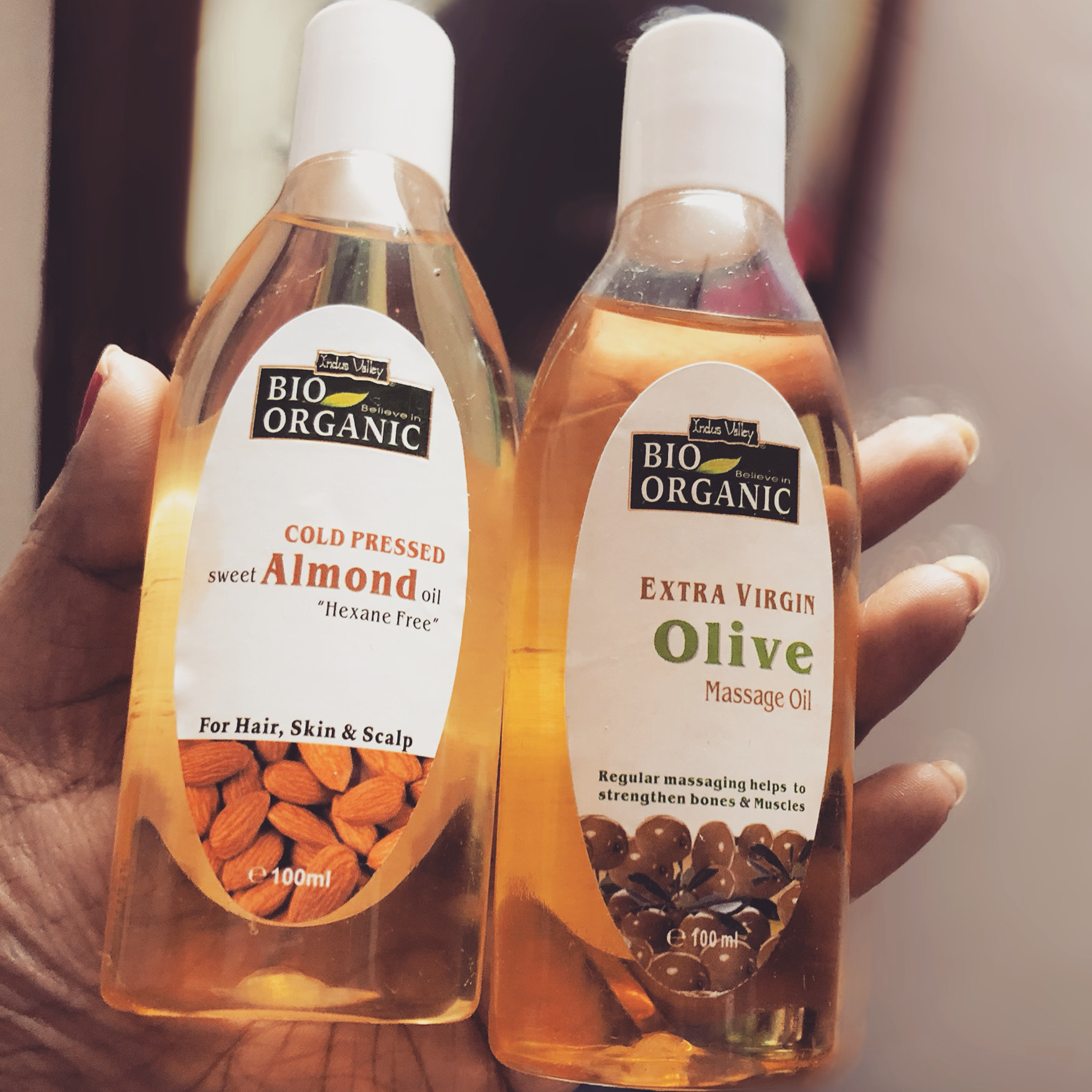 Indus Valley Bio Organic Extra Virgin Olive Massage Oil-Aroma proves the purity-By binatatrisha