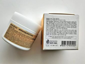 Innisfree Whitening Pore Cream pic 2-Impressive-By nomercyonsexy