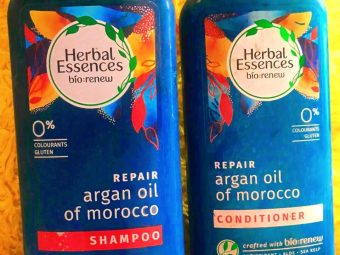 Herbal Essences Argan Oil Of Morocco Shampoo -Brings Life to Dull and Dry Hair-By lifestyle_admonisher