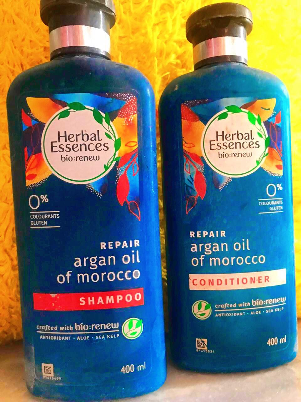 Herbal Essences Argan Oil Of Morocco Shampoo-Brings Life to Dull and Dry Hair-By lifestyle_admonisher
