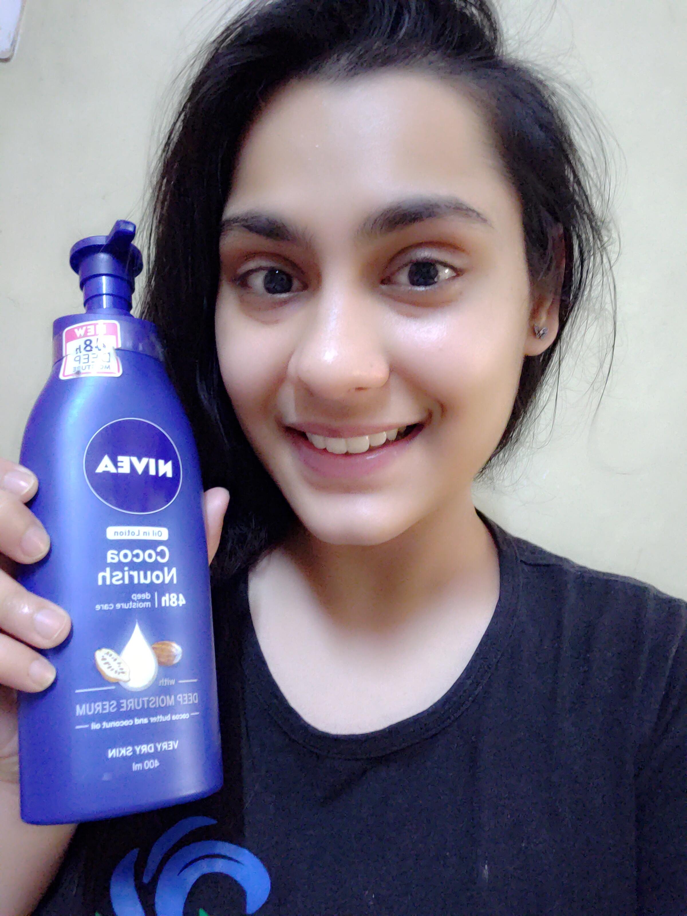 Nivea Cocoa Nourish Body Lotion -Hydrates skin-By apurva_singh