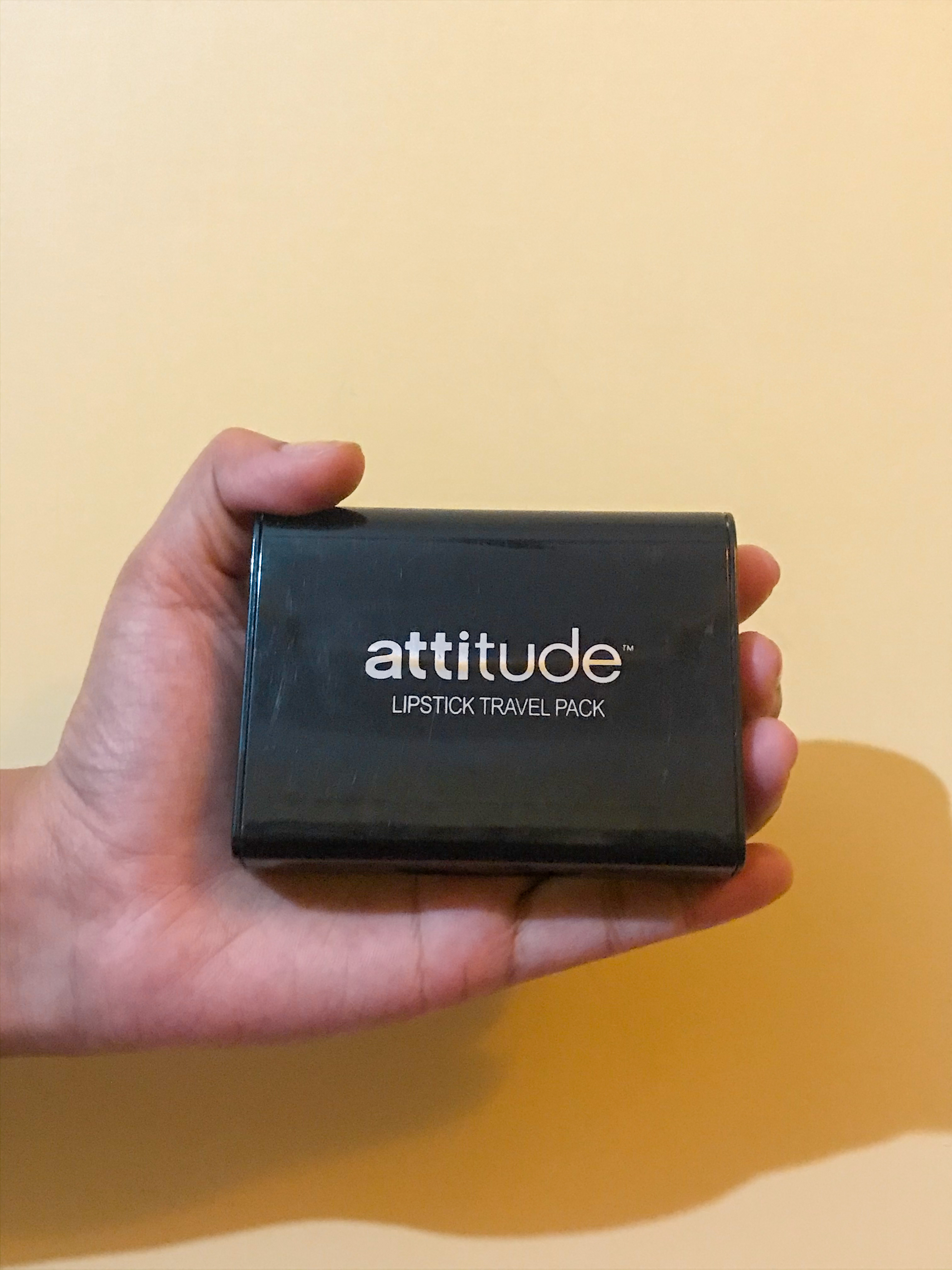 Amway Attitude Lipstick Travel Pack-Hassle free make up-By tanuagni