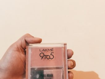 Lakme 9 to 5 Pure Rouge Blusher -Beautiful Pink Blusher from Lakme-By tanuagni