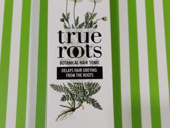 True Roots Botanical Hair Tonic To Delays Hair Greying pic 3-Greying of hair delayed-By sana_ziya