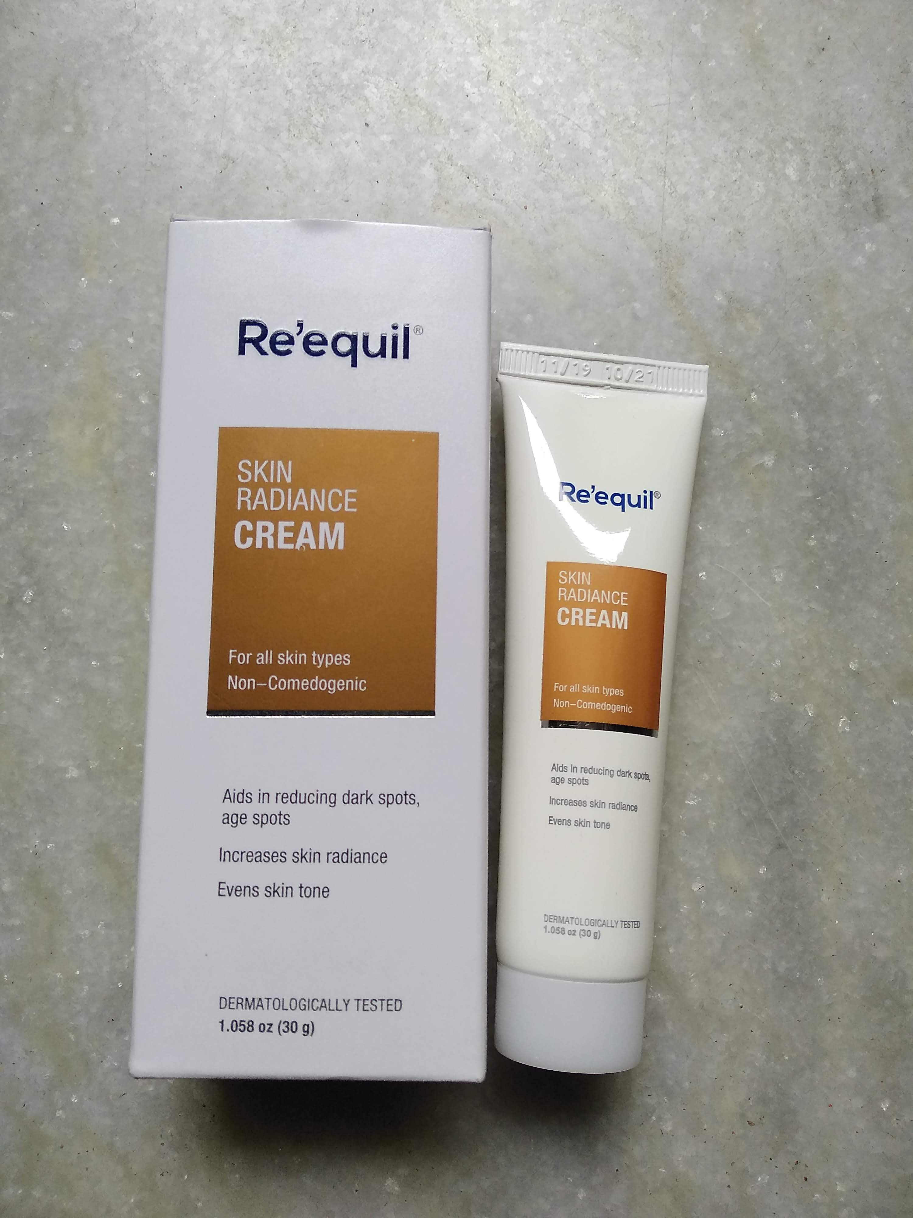 Re'equil Skin Radiance Cream-One of my favourite-By payel123