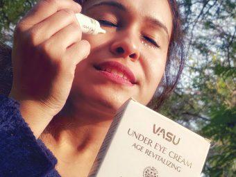 Vasu Age Revitalizing Under Eye Cream -Eye care-By taniyajoshi13