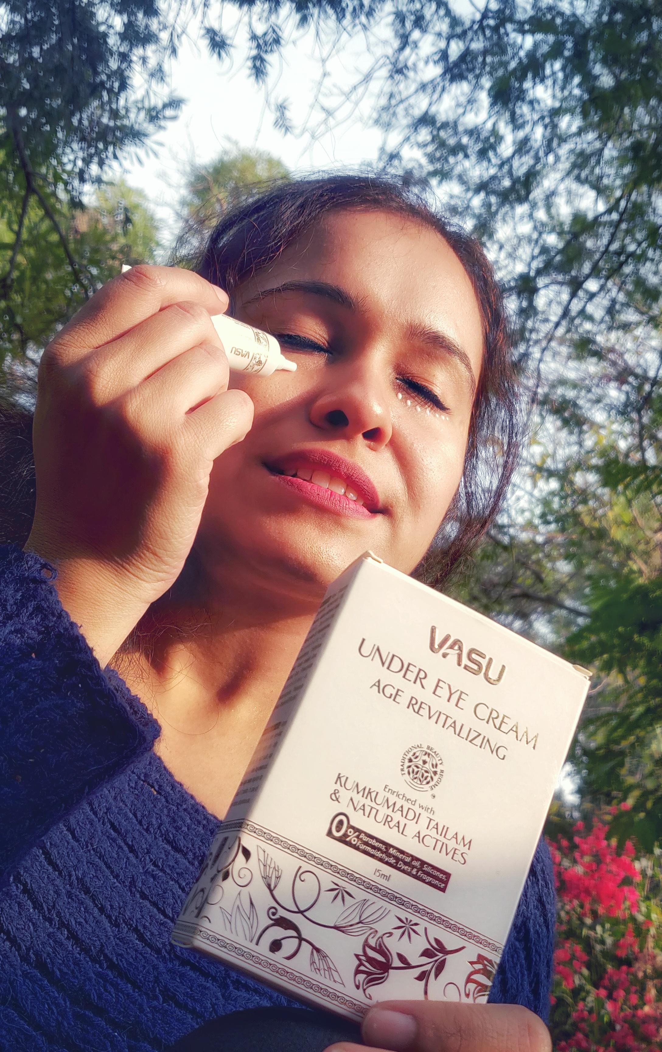 Vasu Age Revitalizing Under Eye Cream-Eye care-By taniyajoshi13
