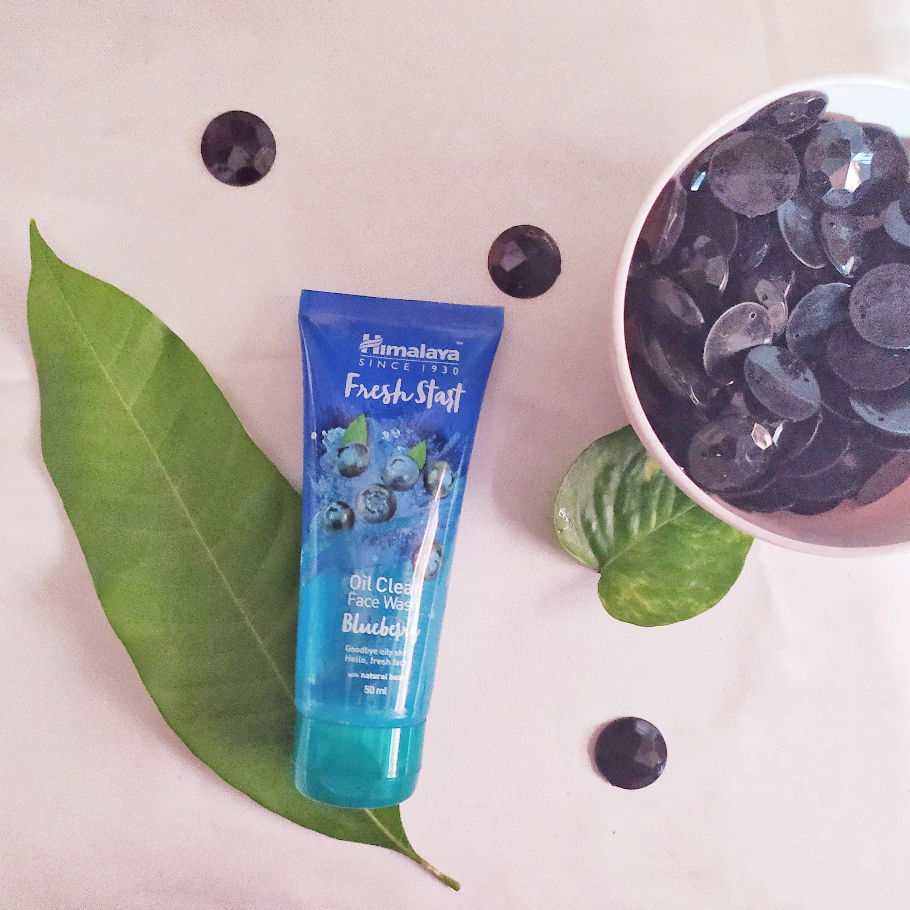 Himalaya Herbals Fresh Start Oil Clear Blueberry Face Wash-Current favourite-By hasmina_laskar_