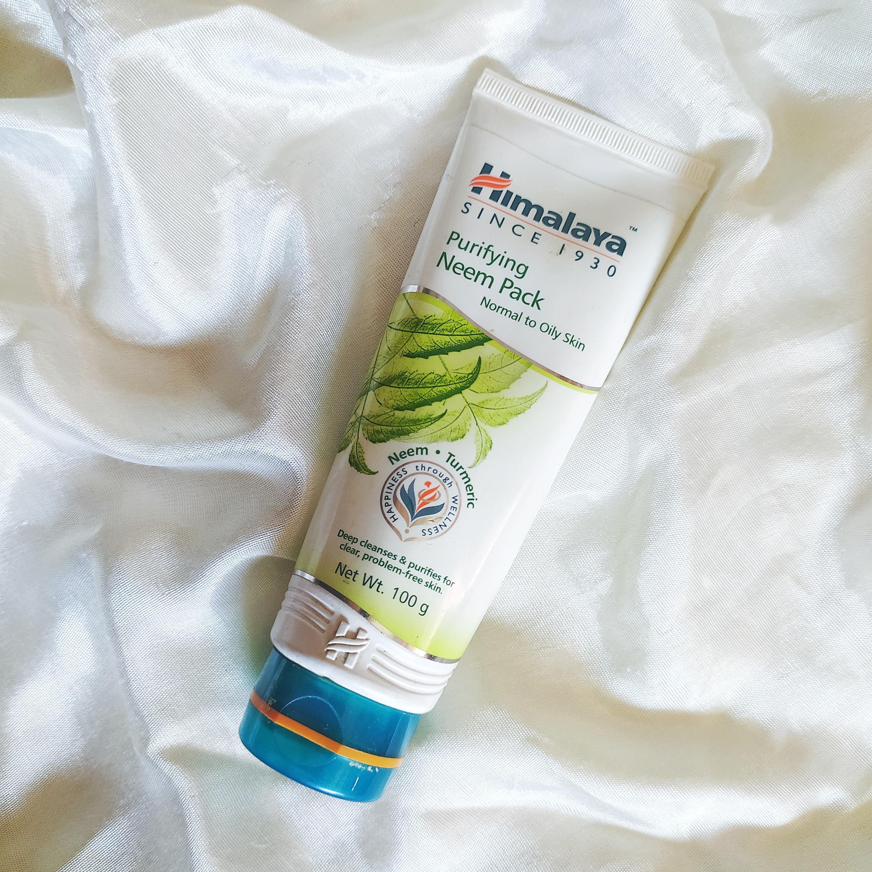 Himalaya Herbals Purifying Neem Mask-A magical product for acne-By hasmina_laskar_